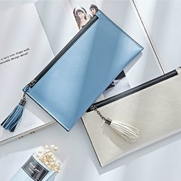 Wholesale Big Credit - 2017 new hot sales Womens fashion Purses Young lady big capacity Long Wallets females PU Leather clutch bags Cards Holder wallet