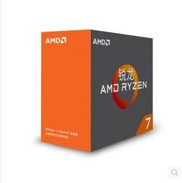 Wholesale Amd Quad Cpu - AMD Ryzen 7 1700X Desktop PC CPU Processor 8-Core AM4 Interface Supports DDR4