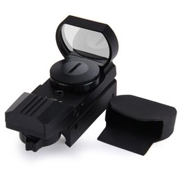 Wholesale Wholesales Scopes - Tactical Scope Hunting Optics Riflescope Holographic Red Dot Sight Reflex 4 Reticle Hunting Accessories For Free Shipping
