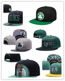 Wholesale Snap Cap Basketball - Cheap 2017 newest wholesale Boston Adjustable Celtics Snapback Hat Thousands Snap Back For Men Basketball Cheap Hat men women Baseball Cap