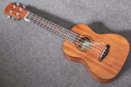 """Wholesale Concert Ukelele - Free shipping 24"""" Concert Ukulele Guitar Mini Acoustic Uke Handcraft Solid Mahogany Wood Hawaii Instruments Ukelele Guitar"""