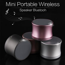 Wholesale Loudspeaker Android - ks01 Mini Portable Wireless Speaker Bluetooh Speakers HIFI Strong Bass Stereo Subwoofer Loudspeakers With Mic For IOS Android Phones TF Card