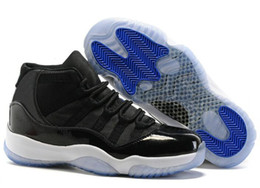 Wholesale Highest Number - New Retro 11 Space Jam 45 Basketball Shoes Men Women 11s Space Jam With Number 45 Sports Sneakers High Quality university blue