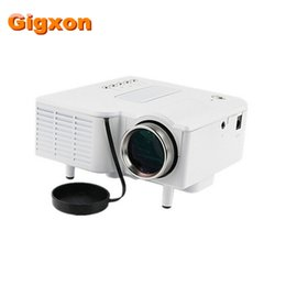 Wholesale Cheap Hdmi Mini Led Projector - Wholesale- Gigxon - G28+ Cheap High Definition Mini Projector UC28+ Home Theater 1080P 320*240 Pixels LED Portable Projector