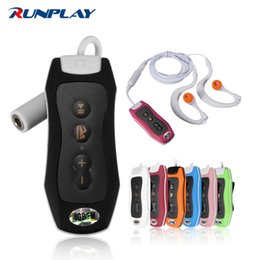 Wholesale Mp3 Top - Wholesale- RUNPLAY Top Quality 8GB MP3 Music Player Waterproof FM Radio Underwater Swimming Diving Digital New MP3 Player