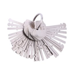 2019 escolha a ferramenta renault KLOM Warded Pick Set (40 Chaves) Chaves de Bloqueio da Ala Warder Lock Chaves de Esqueleto Chaves Desbloqueadas Desbloqueie Ferramentas para Serralheiros Profissionais