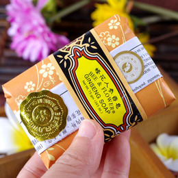 Wholesale Ginseng Whitening - Honey ginseng moisturizing soap clean the skin to treat acne soap bath soap acne differentiated bi-facial itching skin care