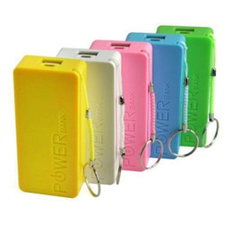 Wholesale Travel Charger Backups - 5600mah Universal Portable Mobile Phone Travel Power Bank Emergency External Backup Battery Charger Banks Chargers Pack for iPhone Cell Phon