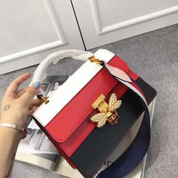 Wholesale Branded Womens Bag - New Fashion women handbag High quality Luxury womens brand Leather Embroidery Floral womens handbags Cross Body Shoulder Bags Totes