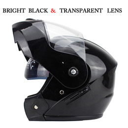 Wholesale Dot Racing Helmets - Wholesale- NEW ARRIVE DOT Flip Up Motorcycle helmet motocicleta casco Helmets motorcross racing helmet S M L XL