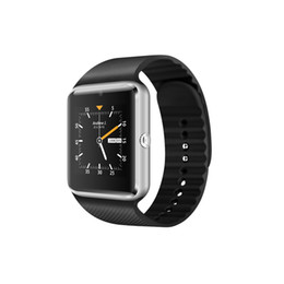 Wholesale Wholesale Gps Heart Rate Watches - 2017 3G Wifi Android GT08 Smart Watch Plus support GPS and Download APP Smart Clock with Whatsapp smartwatch android