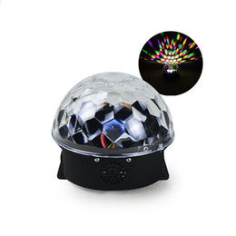 Wholesale magic jumps - 2017 new Projection Lamps Creative Romantic Magic Ball Remote Control Stage Light Bluetooth Music Light free shipping