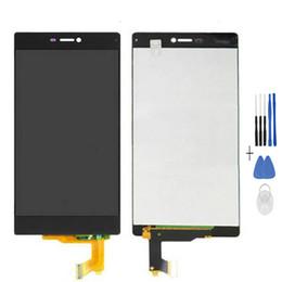 Huawei p8 numériseur en Ligne-100% testés de haute qualité pour Huawei P8 Écran LCD + Digitizer en verre à écran tactile Ascend P8 GRA-UL00 / -UL10 GRA-L09 GRA-CL10 / CL00
