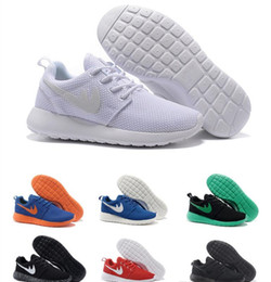 Wholesale Royal Ink - 2017 New Run Inked Black White Women Running Shoes For Men London Olympic Runs Shoes Sneakers Sport Shoes Trainers 36-45