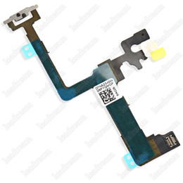 Wholesale Flashing Power Button - 100% New Power On Off Button Switch Flash Flex Cable Replacement part for iPhone 6 6Plus iPhone 6s 6sPlus free DHL