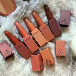 Wholesale 3ce Lipstick Korean - Hot Selling 3CE Eunhye House Lip Stick Moisturizer Matte Lipsticks Long-lasting Easy to Wear Korean Cosmetic Nude Makeup Lips From alisky