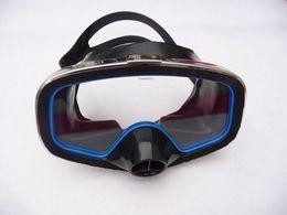 Wholesale Swimming Mirror - Wholesale- Mirror submersible mirror submersible mask swimming goggles snorkel mirror submersible glass supplies