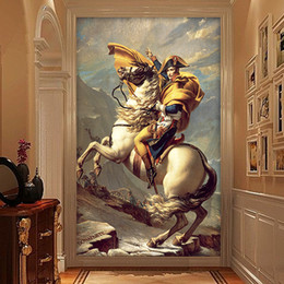 Wholesale Free Photo Wallpaper - Wholesale-3D Stereo Customize Photo Wallpaper Retro Napoleon Mural Wallpapers Free Shipping