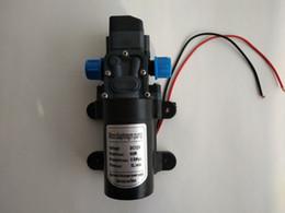 Canada Nouveau DC 12V 60W 0.8MPA 5L / MIN Micro pompe à diaphragme Intelligent Mini pompe à eau auto-amorçante électrique 12 V MAX aspiration 2M Qualité Offre