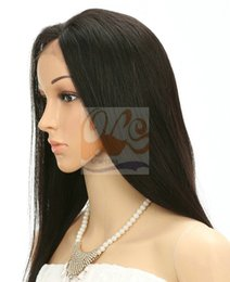 "Wholesale Human Lace Wigs Wholesale - Free Shipping New GrantSea Front Lace Celebrity Hairstyle 14""-24"" color Human Hair Wigs Human Hair Wig Front Lace Wig GS110087"