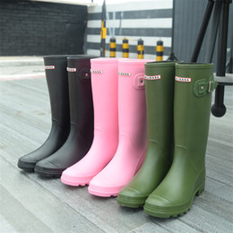Wholesale Top Brand For Heels - New Spring Half Milisasa Boots for Women Fashion Rainboots Top Quality Waterproof Brand Boots Rubber Outdoor Water Shoes