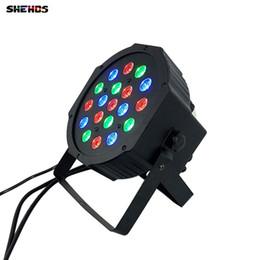 Discount american dj par led - American DJ LED Flat Par SlimPar No Noise 19x3W RGB 7R,6G,6B 3 7Channels Professional for Disco KTV Party Club