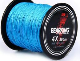 Wholesale Blue Carp - Discount!! hot 300m 10LB - 80LB Braided Fishing Line PE Strong Multifilament Fishing Line Carp Fishing Saltwater