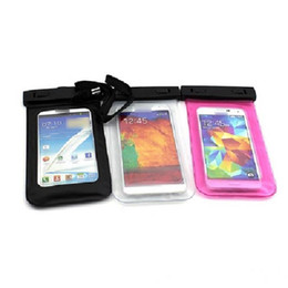 Wholesale Galaxy S3 Hot Cases - Free Shipping,Hot Sale,Sport Underwater DIVE Waterproof Bag Pouch for Samsung , water proof dry bag for Galaxy s4 s3 4.8-5.5inch