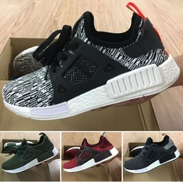 Wholesale Grey Wool Socks - 2016 With Box NMD XR1 Duck Camo X City Sock Pk Wool Boost for Top quality Fashion Running Shoes Size 36-45 Free Shipping