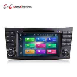 Wholesale Built Mercedes Benz - Android 6.0 Octa Core Car DVD Player for Benz W211 with Radio GPS Navi Wifi DVR Mirror Link