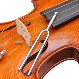 effektpedalanschluss Rabatt 440Hz A Tone Edelstahl Stimmgabel Violine Guitar Tuner Instrument Großhandel