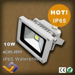 Wholesale Advertising Landscaping - Wholesale- 10w Led Floodlight Waterproof Flood Light Outdoor Lighting Street Lighting Gardan landscape Lighting Advertising Flood Lamp