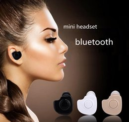 Wholesale Hot New Headphones - WYJ new Mini Bluetooth 4.1 Earphone Stereo Light Wireless Invisible Headphones S530 Super Headset Music answer call Hot selling