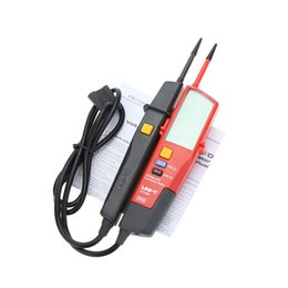 Wholesale Lcd Led Tester - Freeshipping Voltage And Continuity Testers Auto Range Volt Detectors Pen LED LCD Display