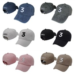 Wholesale Womens Hot Pink Tops - Fashion hot sun fitted hats design men dad baseball hat womens outdoor sports casual cap brand hip hop brand number three 3 caps Top quality