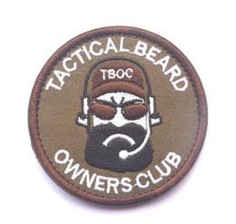 Canada 3pcs brodé crochet et boucle patch tactique tissu patch barbe correctif 3pcs pour casquettes sacs BDU vestes Offre