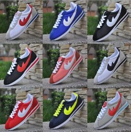 Wholesale Shell Toes - High quality 13COLOR brands Casual Shoes men and women cortez shoes leisure Shells shoes Leather fashion outdoor Sneakers big size 36-48