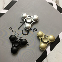 Wholesale Metal Finger Boxing - Fidget Spinner HandSpinner Hand Spinner Finger EDC Toy For Decompression Anxiety Kirsite Metal Ceramic Bearing with retailed box