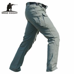Wholesale Casual Trousers Pants - x201710 Tactical clothing men cargo pants IX7 military trousers, spring summer casual military army pants, men's trousers