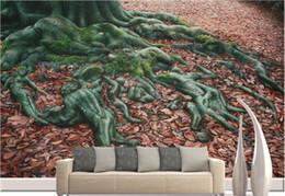 Wholesale Mural Definition - Custom 3d wallpaper murals High-definition creative roots 3d stereoscopic wallpaper living room modern wallpaper
