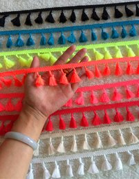 "Wholesale Wholesale Tassel Fringe Trim - 55 yards tassel fringe trims flourish yarn Tassels Trim you pick color trimming tassel with 1""tassels Victorian Style trim"