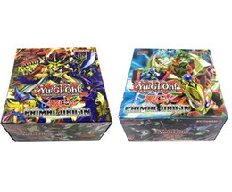 Wholesale Paper Christmas Gifts - 288 pcs   lot Yugioh Flash Cards Baby Cards Game Toys English Version Boys Girls Yu Gi Oh Games Collection Cards Christmas Gift