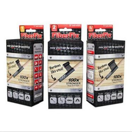 Wholesale Fiberglass Adhesives - Fiberfix Tape Made By Fiberglass Materials Water-activated Wrap Fiber Fix Wrap Super Adhesive Tape CCA5805 100pcs