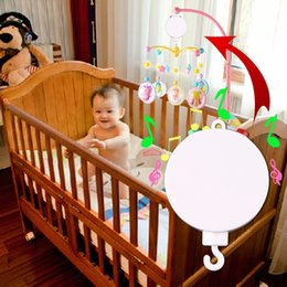 Wholesale Wind Up Music Box Crib - Wholesale- YKS Baby Crib Mobile Bed Bell Toy Holder Arm Bracket with Wind-up Music Box New Sale