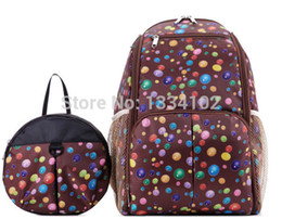 Wholesale Diapers Backpack - Wholesale- Large capacity multifunctional mummy backpack nappy bag baby diaper bags mommy maternity bag babies care product