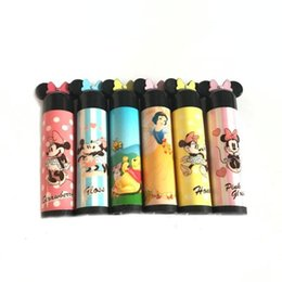 Wholesale Mini Lip Tube - Mini 5g Empty mickey mouse LIP BALM Tubes Containers Lipstick for child six colors Free Shipping