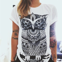 Wholesale Wholesale European Women S Clothing - Wholesale- CDJLFH Summer Vibe With Me Print Punk Rock Graphic Tees White Designer 3D T shirt Clothing Women European Fashion T-shirt 2017