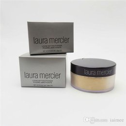 Wholesale Wholesale Mineral Pressed Powder - Laura Merceir Thin Mineral Face Powder Oil Control Pore Corrector Finishing Powder 4 Colors Wholesale Free Shipping