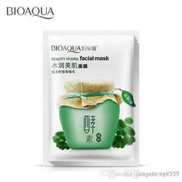 Wholesale Cleaning Beauty Sheet - Centella asiatica plant Moisturizing skin for face Masks Beauty hydra skin care facial mask face care sheet mask oilcontrol pore