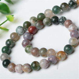 Wholesale Diy Semi Precious Stones - Agate Beads Loose Natural Stone DHL India Beads Accessories Semi Precious Stone Beads Accessories Fit for Jewelry Bracelet Making DIY